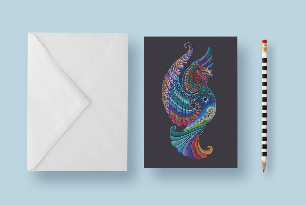 Greeting cards available on my shop