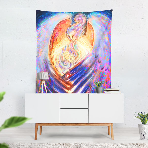 Home decor, apparel and accessories available from Redbubble