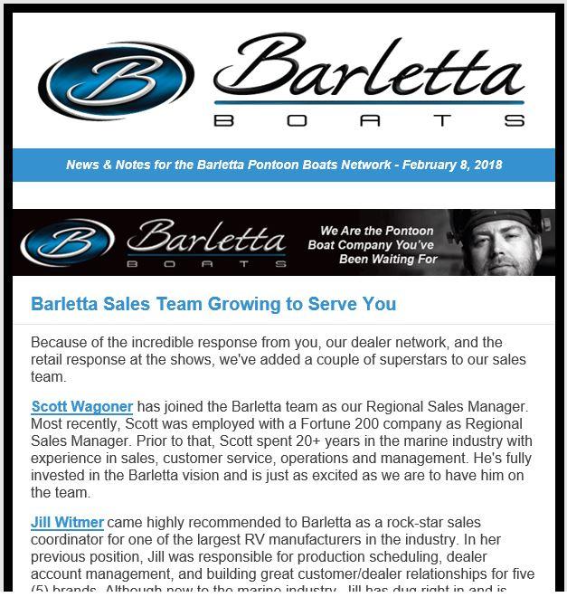 Barletta Sales Team