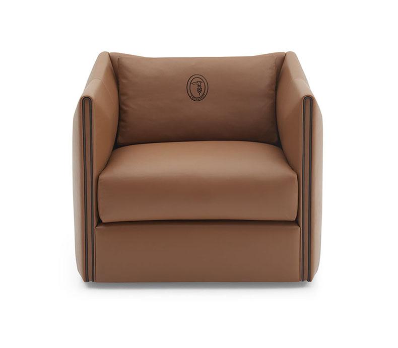 tr carrara table, liubis armchairs, check rug.jpg