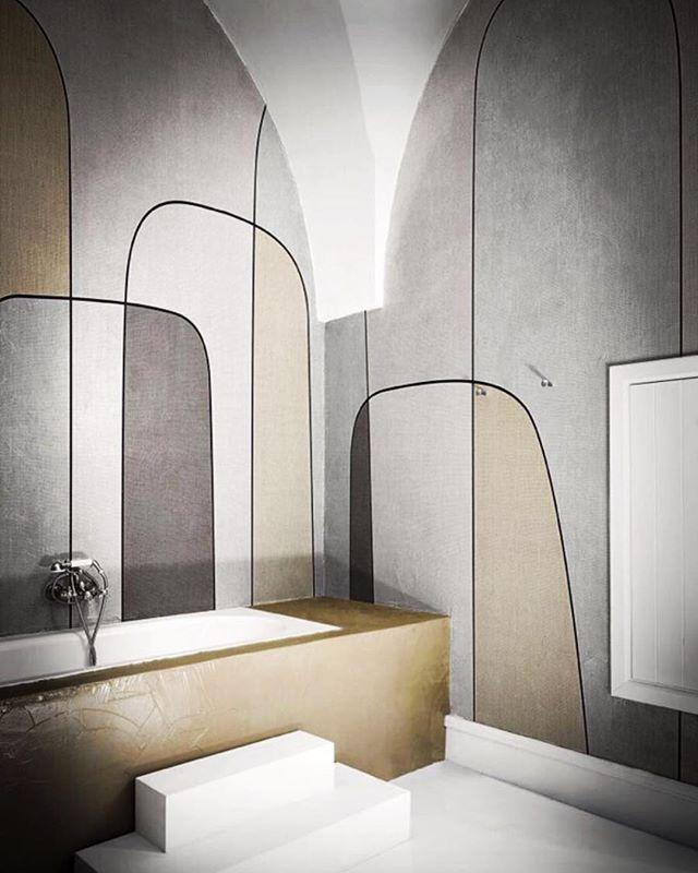 New wallpaperr for @londonartwallpaper by Carlo Colombo  #wallpaper #londonart #cersaie2018 #cersaie #carlocolombo #design #designer #interiordesign #luxuryinteriordesign #luxuryinterior #architecture #interiorstylist #home #homedecor #luxury #contemporary
