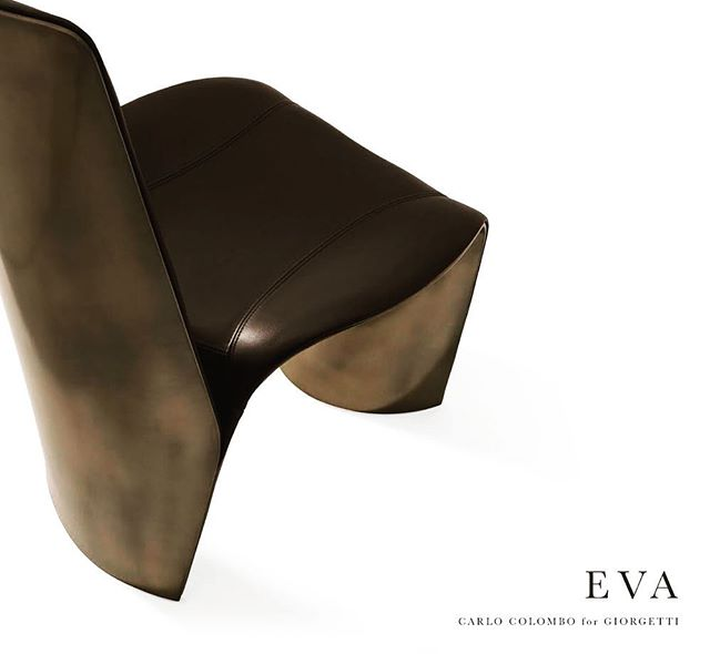 Strong, dynamic, contemporary and ergonomic lines for a seat like a sculpture. Eva chair arises from the encounter between craftsmanship and technology, where the materials of excellence become special finishes that give rise to unique products.  #giorgetti #armchair #eva #designer #design #madeinitaly #craftmanship #interiordesign #interior #project #productdesign #luxury #luxuryhome #living #dining #architecture #architettura #designlovers #designboom #designlife #leather #tecnology #tradition #shape #curves