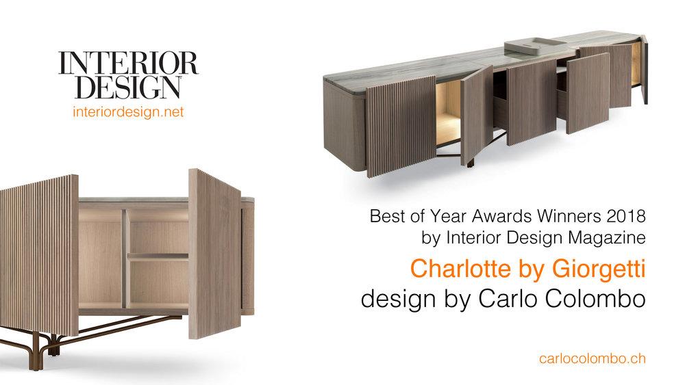 interior deisgn magazine award 2018