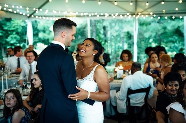 Last September I had the pleasure of helping the Worrells celebrate their big day @thebradfordnc.  Everyone had a great time, and we even got to incorporate some of their fraternity and sorority traditions as well!  Thanks to @kdreameffects for allowing me to be a part of this celebration!  #tbt #thebradford #charlotteweddingdj #raleighweddingdj #triangleweddingdj #socialsoundtracks 📸:@zachary_photography_