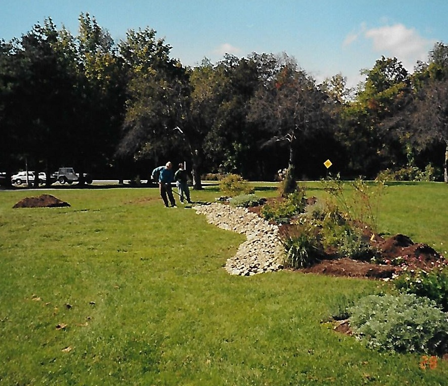 Cornell CooperativeExt.of UlsterXeriscape Gardenlocated at UCCC - In 2000, we were approached by Cheryl Alloway of the Master Gardeners of Cornell Cooperative Extension with plans to start a Xericape Garden at UCCC. We donated all of the soil, mulch and stone for the original gardens. Cornell Cooperative Extension uses this garden for public workshops. The garden has since expanded to include a rain garden and pergola.