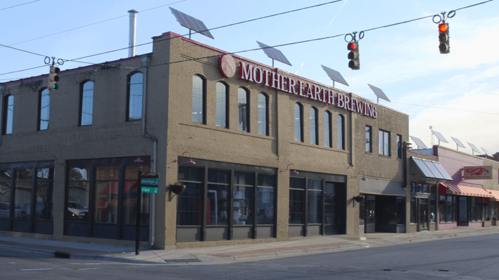 MOTHER EARTH BREWERY - DISTILLERY OF RUM, WHISKEY AND GIN302 Mitchell St •Kinston, NC 28501(252) 208-2437
