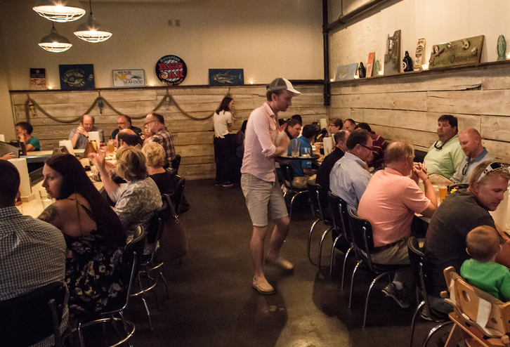 BOILER ROOM - OYSTER BAR, BURGERS & BEER 108 W North St • Kinston, NC 28501(252) 208-2433 ext. 2
