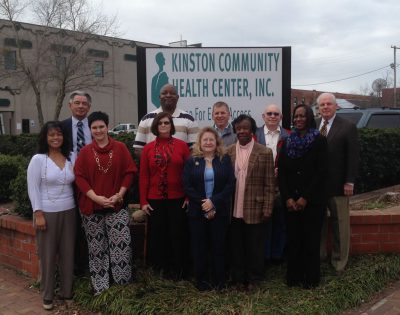 KINSTON COMMUNITY HEALTH CARE - CLINIC OUTPATIENT SERVICES & DENTAL CARE324 N Queen St • Kinston, NC 28501(252) 522-9800