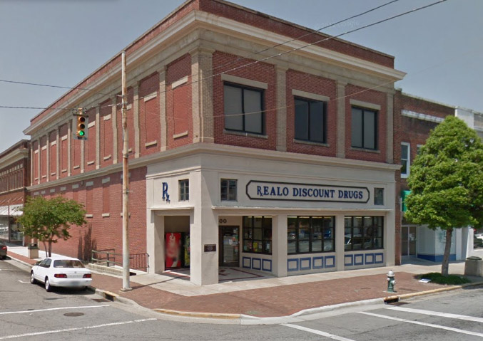 REALO - PHARMACY300 N Queen St • Kinston, NC 28501(252) 527-6929