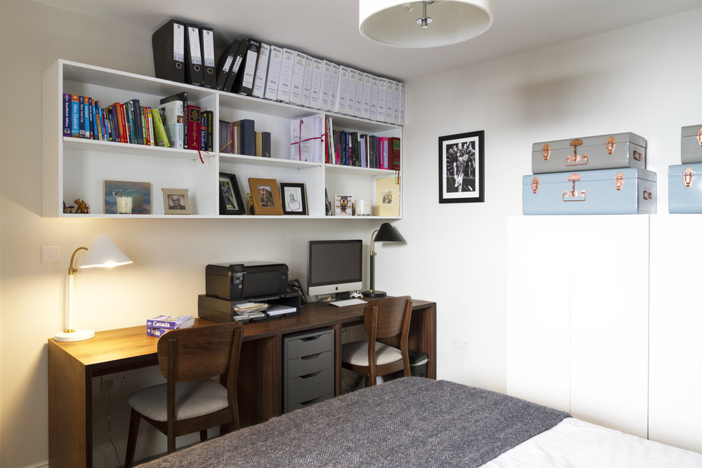 Guest bedroom / study - 'after' photo