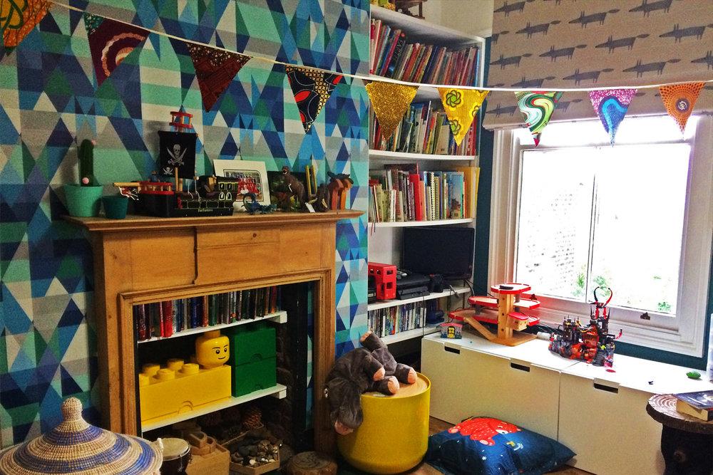 Boy's Bedroom - Hanley Road, London N4