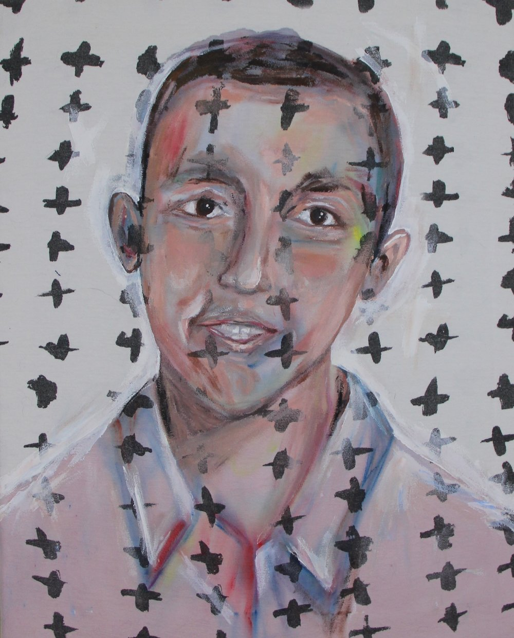 PORTRAIT OF JUSTIN REYES BY CHRISTOPHER HARDGROVE