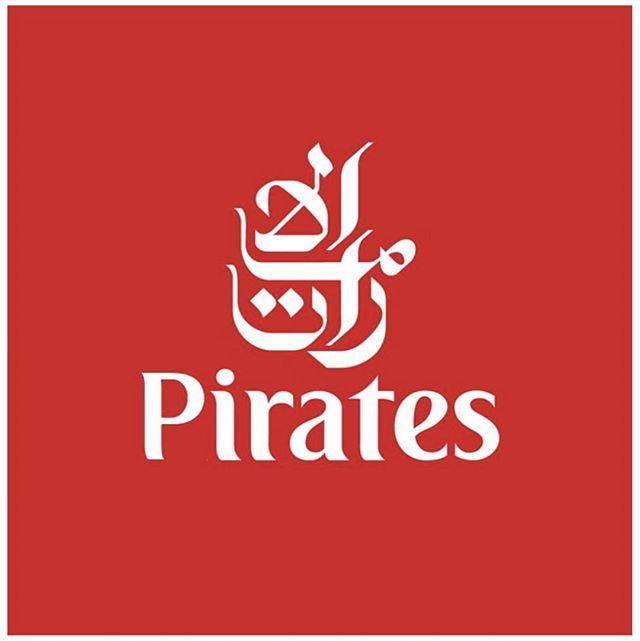Pirates, are everywhere. .  #Pirates #emirates #bemorepirate #logo