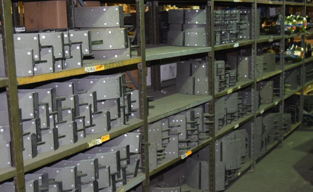 Associated Truck Parts specializes in lining and relining brake shoe cores. From small to large, if you need a core relined, we are the place to go!