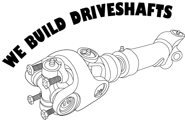We build driveshafts