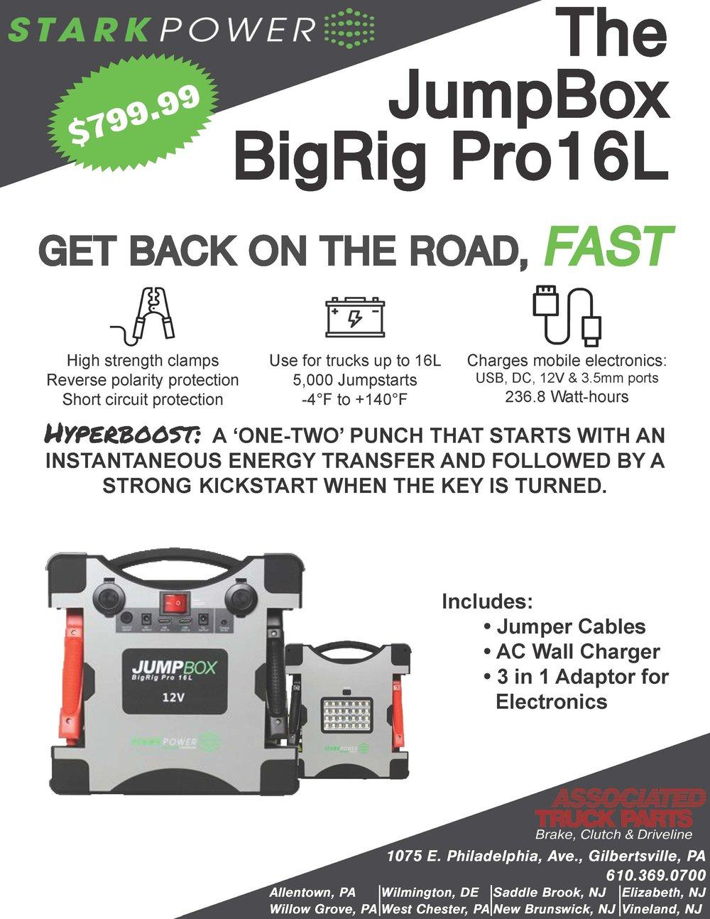 JumpBox BigRig 16L