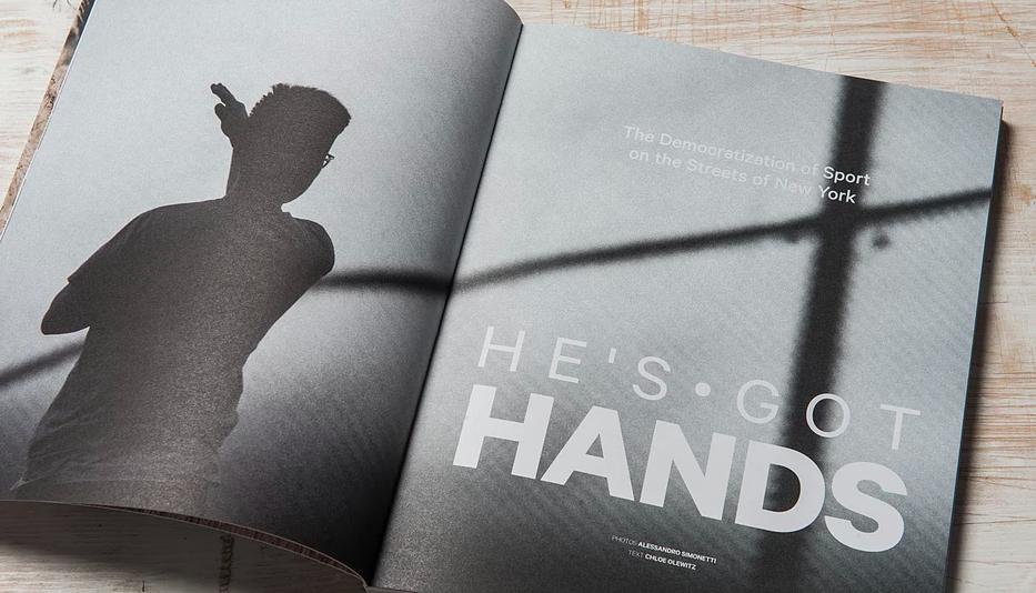 athleta magazine he's got hands