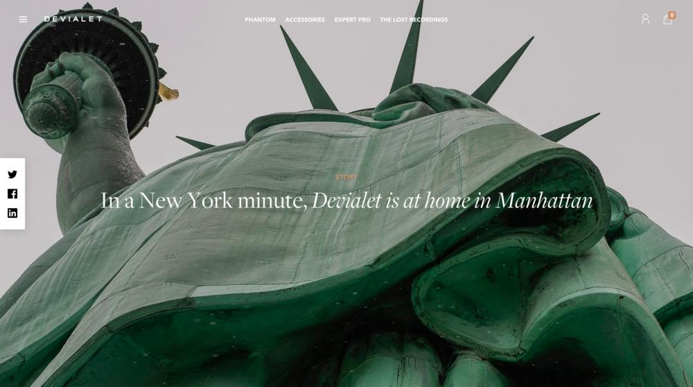 Devialet in New York