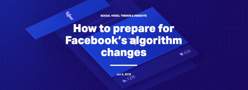 Wibbitz FB algorithm changes