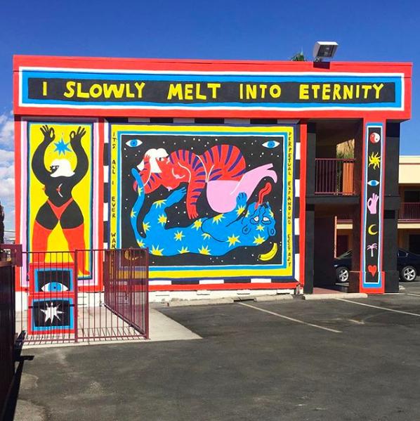 Create Like Crazy November 2018 street art Vegas