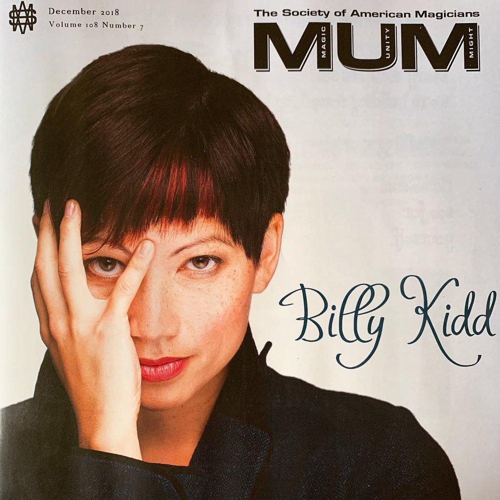 MUM Billy Kidd Cover