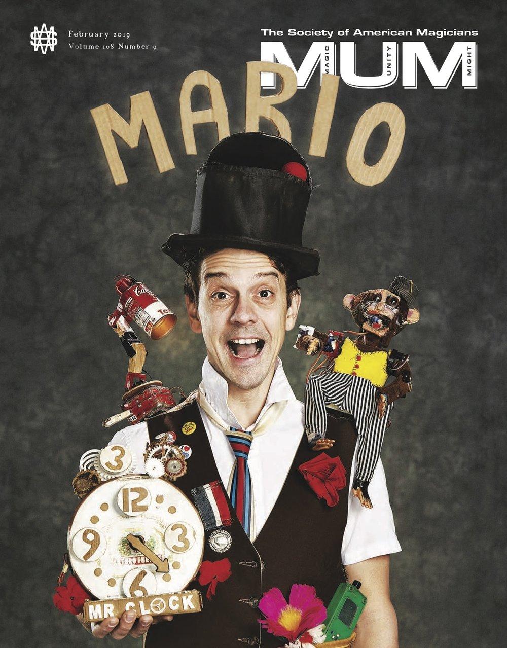Mario Marchese MUM Cover Feb 2019