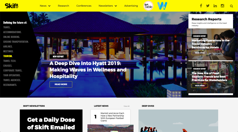 Skift Branded Content Marketing