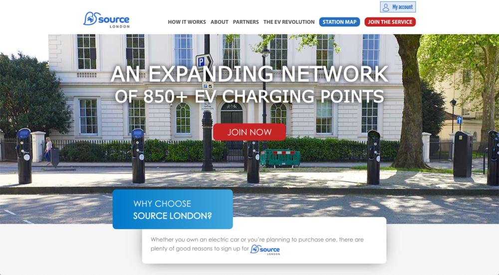 Source London Website Copywriter