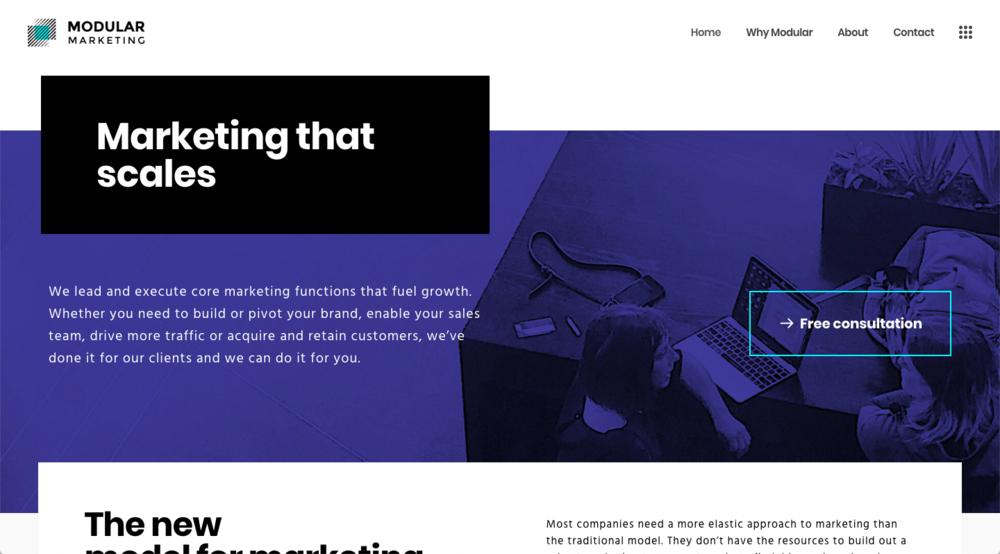 Modular Marketing content marketing