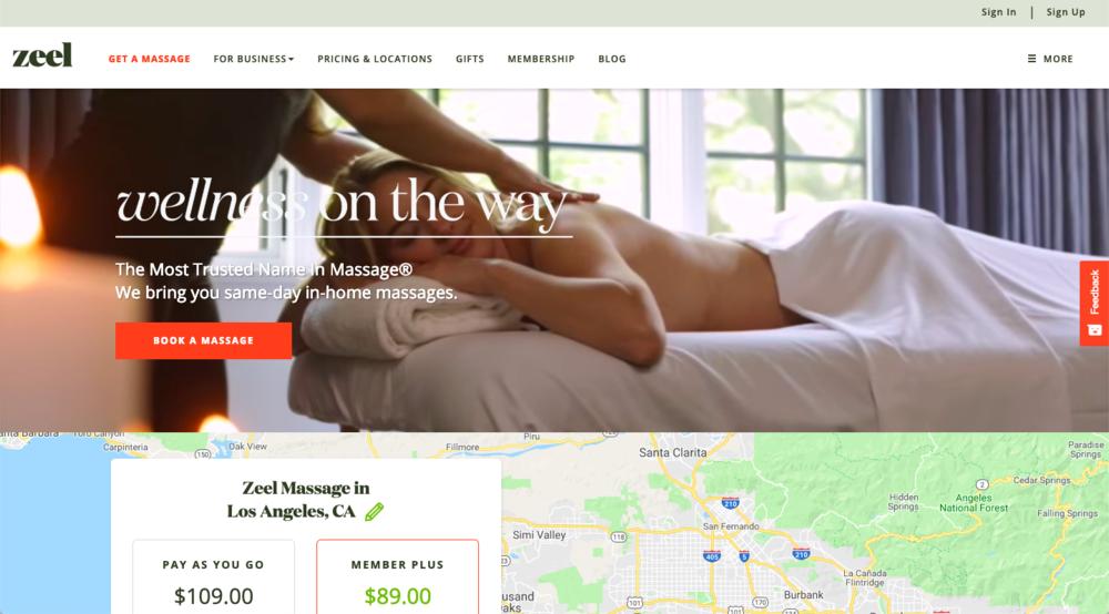 Zeel blog content marketing