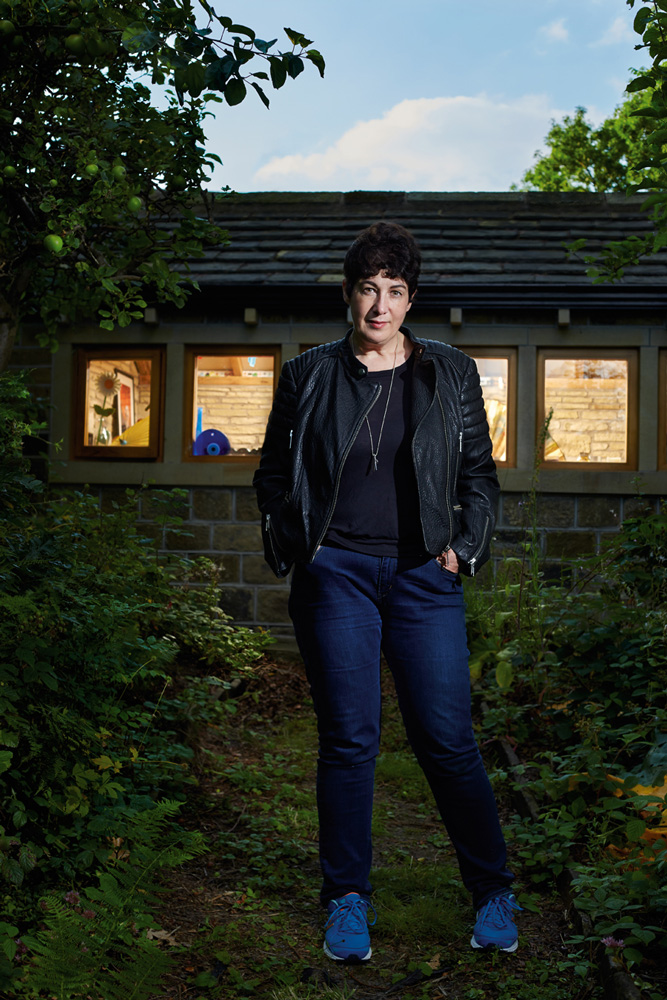 Author Joanne Harris, The Independent Magazine