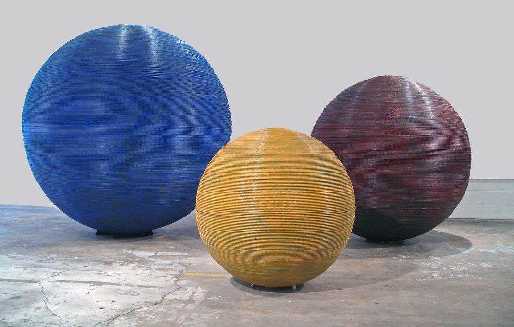 Spheres 4,6,&8