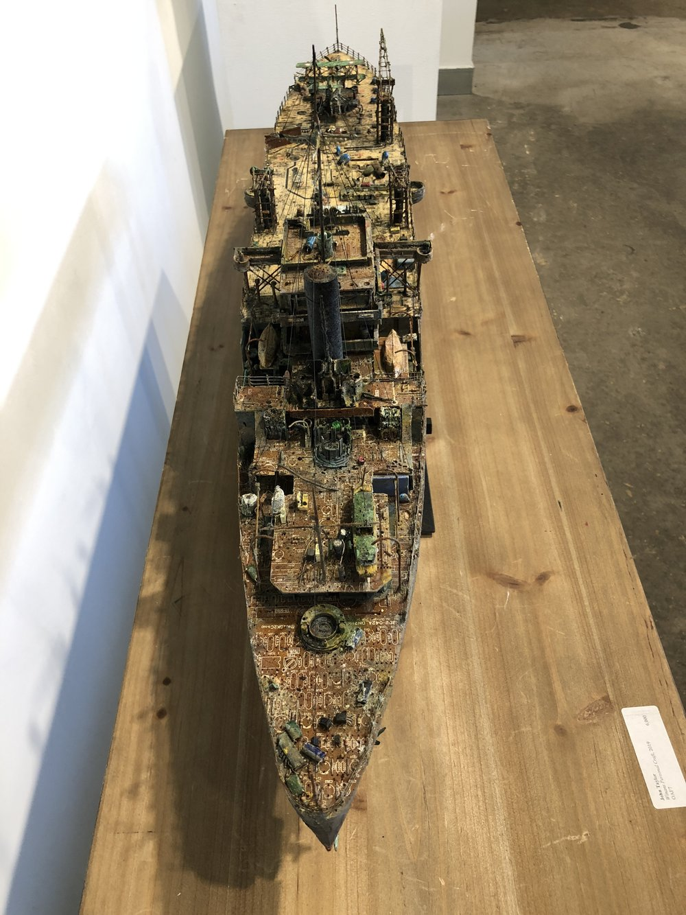 HMAS Albatross (detail)
