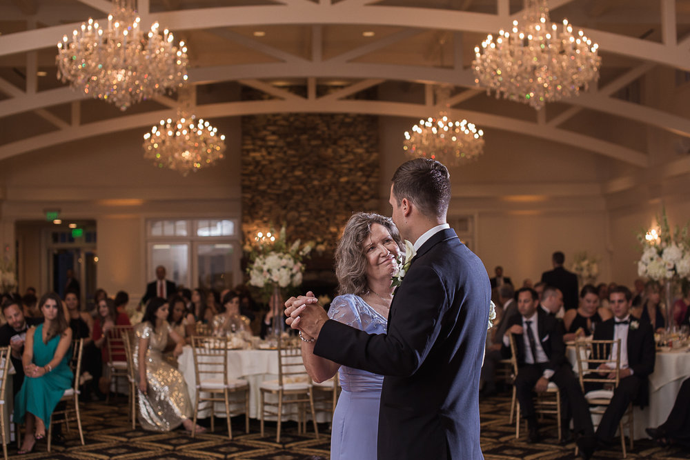 Mother Son Dance Charlotte Wedding Photographer
