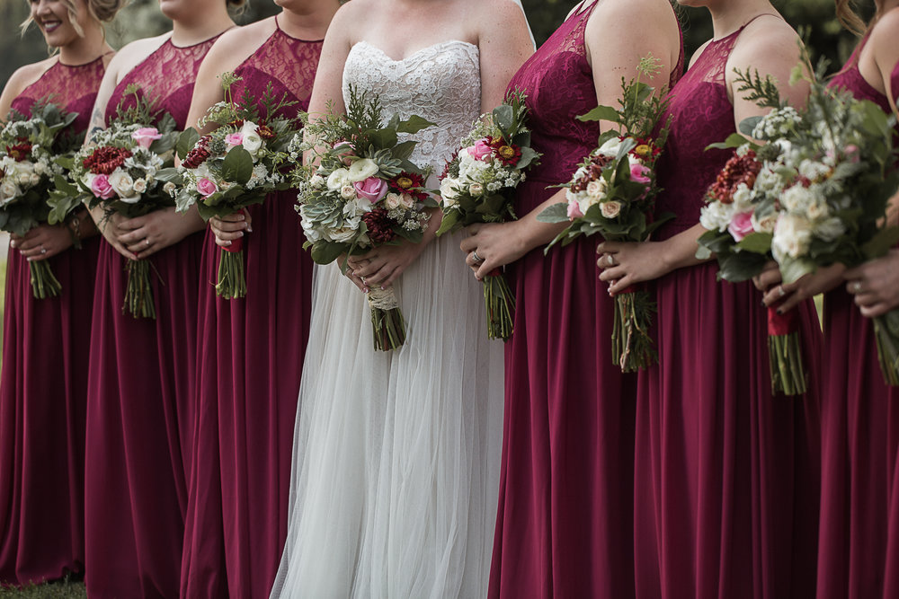 Bridesmaids Charlotte Wedding Photographer