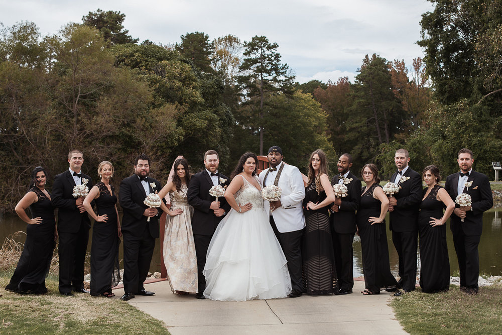 Wedding Party Charlotte Wedding Photographer