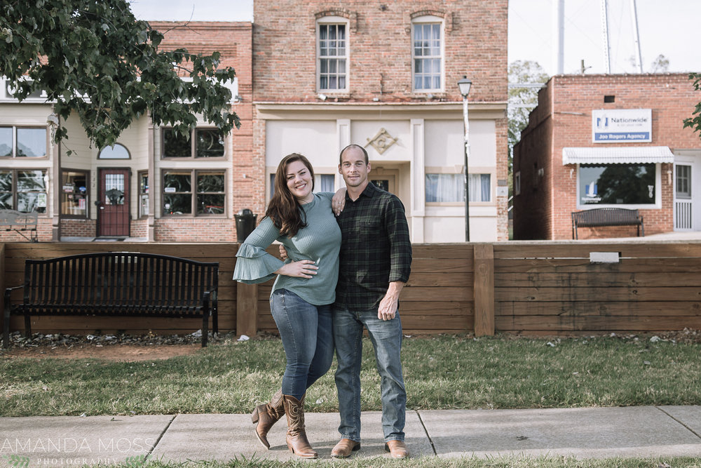 waxhaw engagement session