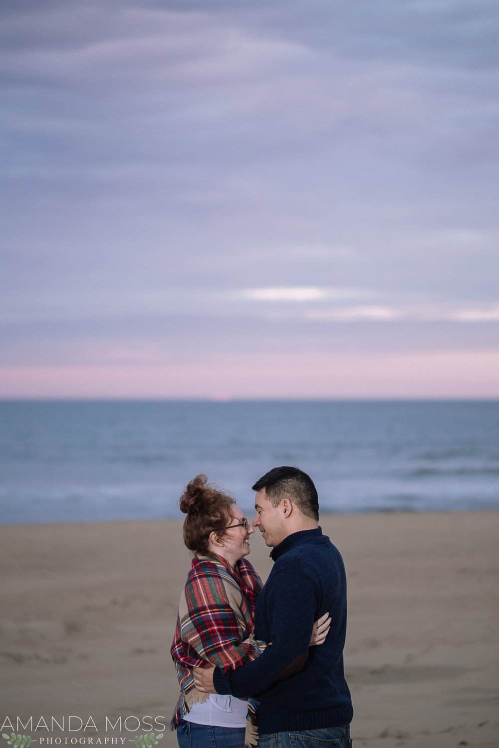 couples session on the beach