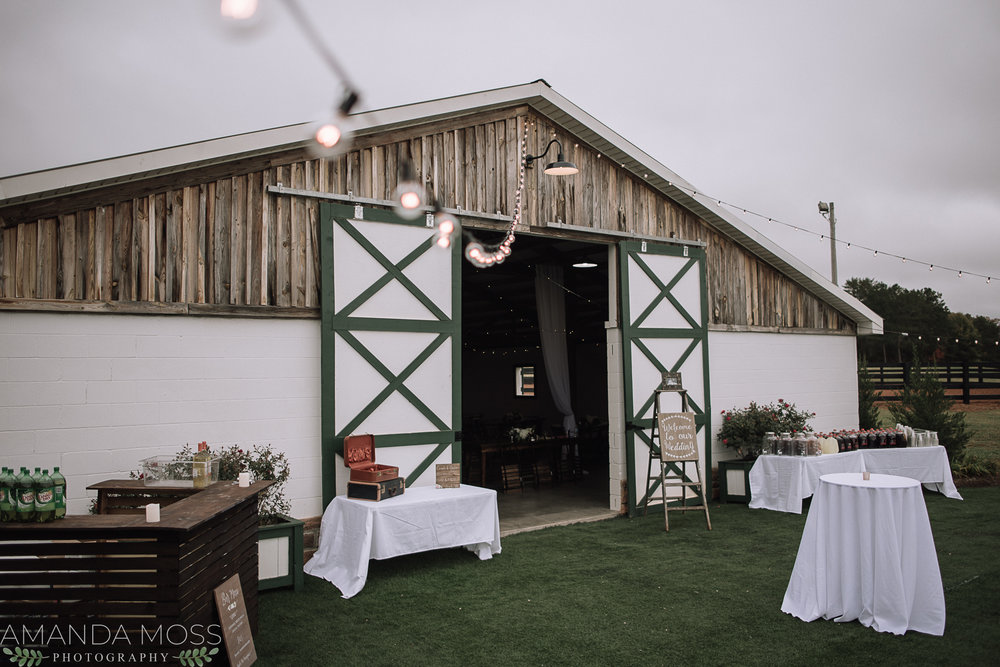 wedding at circle m farm events
