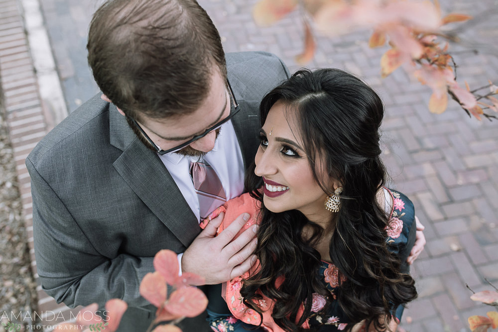 charlotte hindu wedding at hilton university