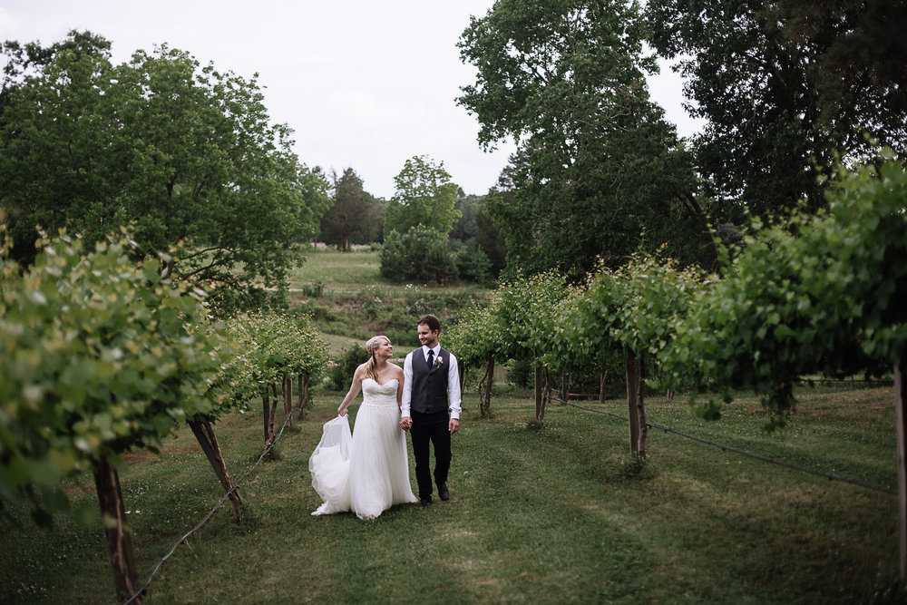 Wedding at Treehouse Vineyards