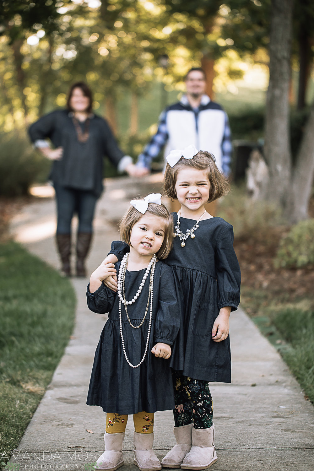 charlotte family photographer fall mini session ballantyne