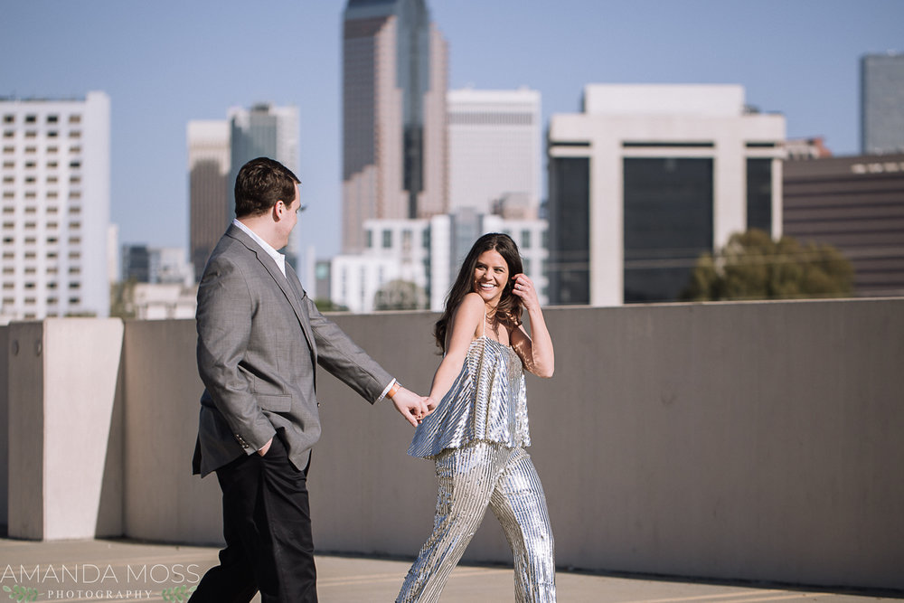 charlotte wedding photographer engagement session
