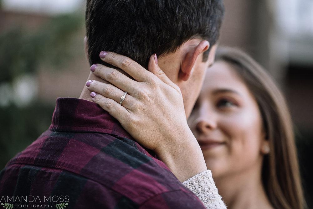 charlotte north carolina wedding photographer engagement