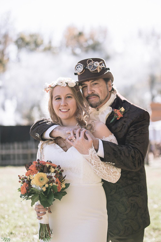 charlotte north carolina wedding photographer alternative offbeat renaissance festival