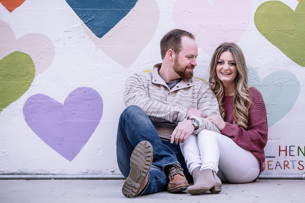 charlotte north carolina wedding photographer engagement session
