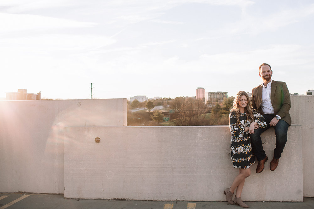 charlotte north carolina wedding photographer southend engagement session