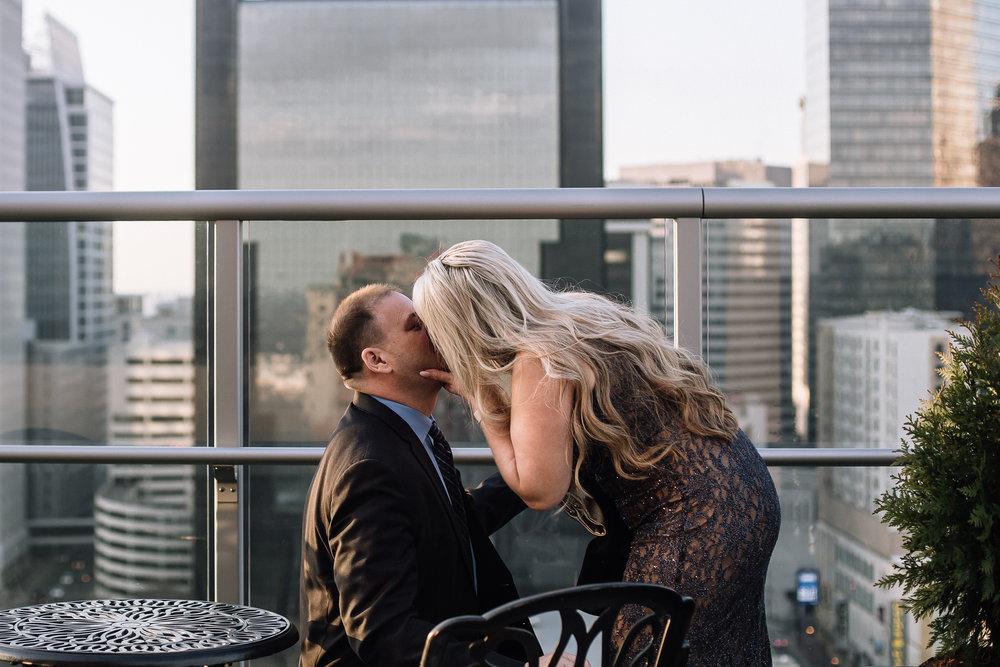 charlotte north carolina wedding photographer suprprise proposal