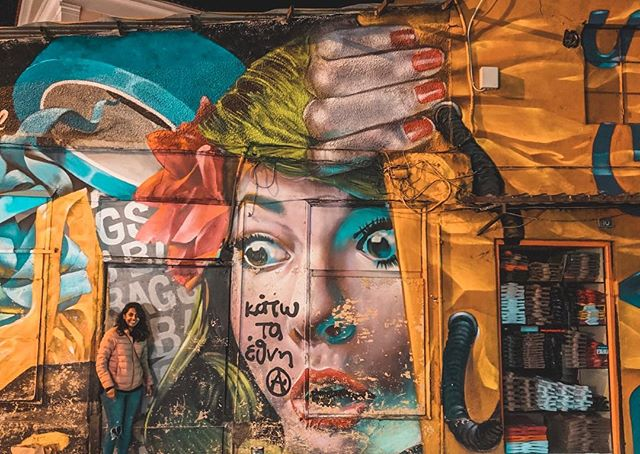 Athens is becoming the capital of graffiti! Join us and discover the unconventional side of the city! . . . . . . . #freewalkingtour #graffiti #streetart #urbanphotography #city #citylife #athens #bestoftheday #bestpic #travel #traveling #tour #walk #greece #instagraffiti #instago #instagood #photooftheday #streetphotography