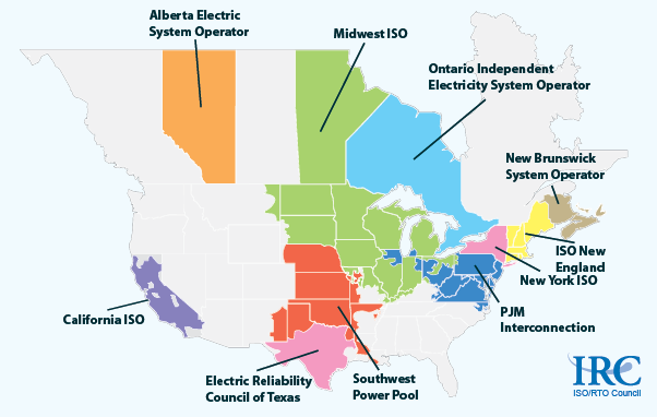 System and Transmission Operators in North America